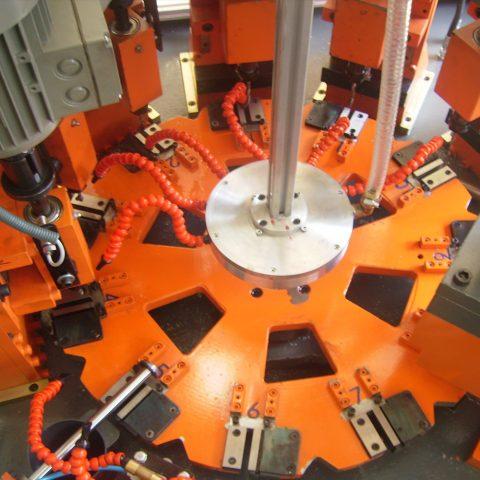 AL-CU Terminal Processing Machine